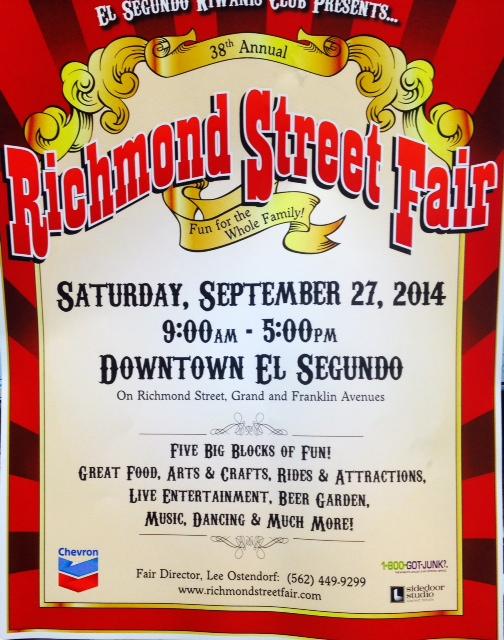 richmond street fair flyer
