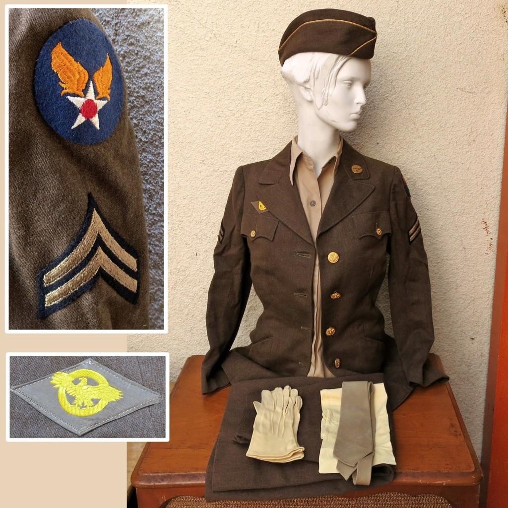 vintage wwii uniform preserve