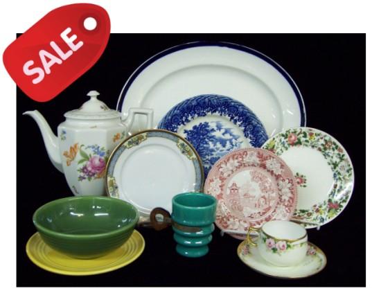 Sale on China & Dinnerware! Ending December 16