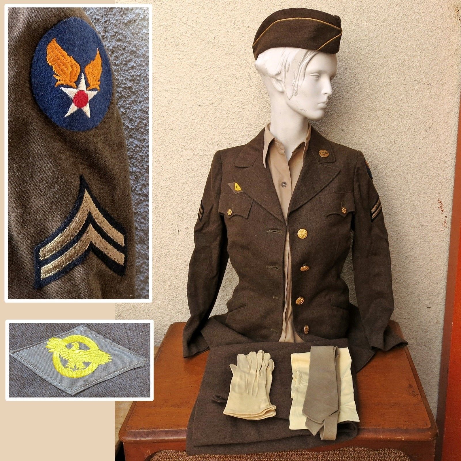 Waac Wac Wwii Women S Uniform A Way To Help Preserve